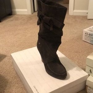 Oak Suede Jill Boot